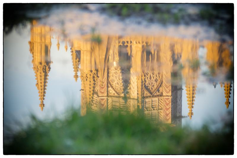 Ely Cathedral, reflected