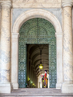Entrance to St Peter's Basilica, Vatican