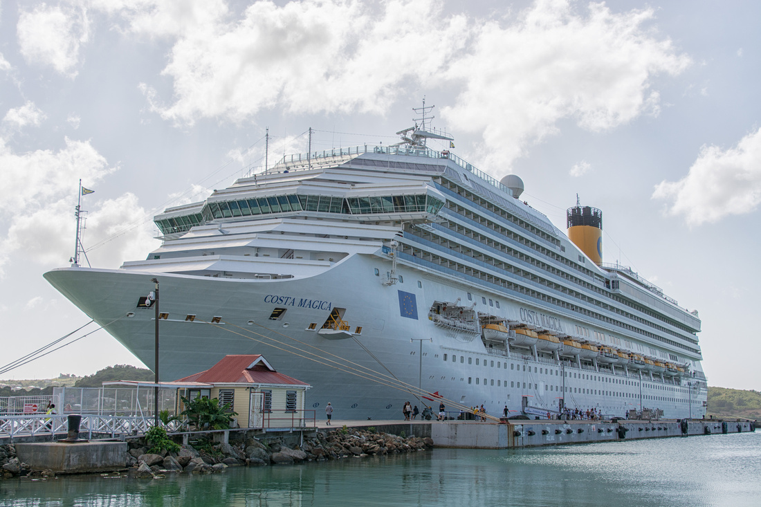 Cruise line, St John's