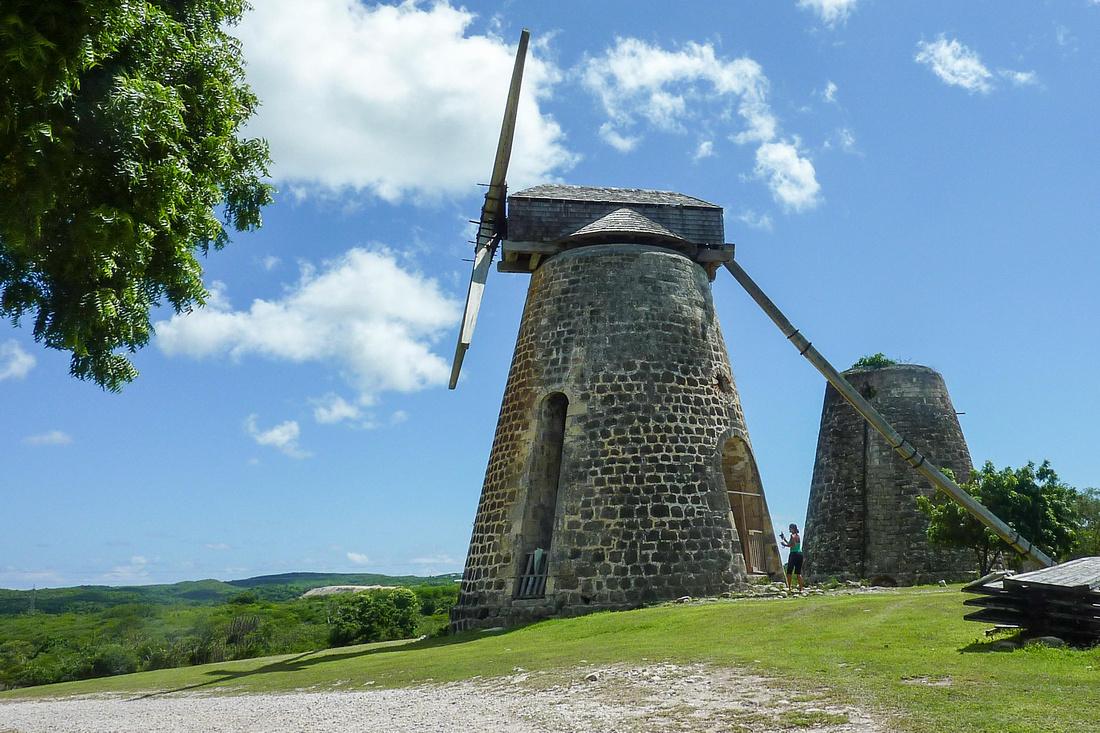 Betty's Hope sugar mills