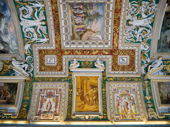 Vatican museums, ceiling